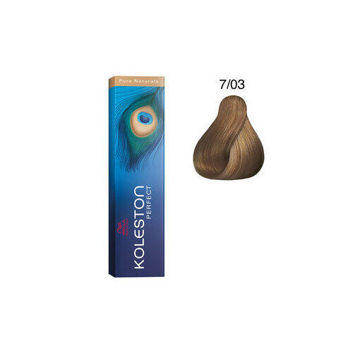 Tintura per capelli Koleston Perfect ME+ 7/03 60 ml Wella