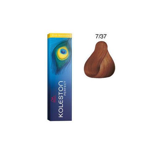 Koleston Perfect 7/37 Rich Naturals 60 ml Wella biondo medio dorato sabbia