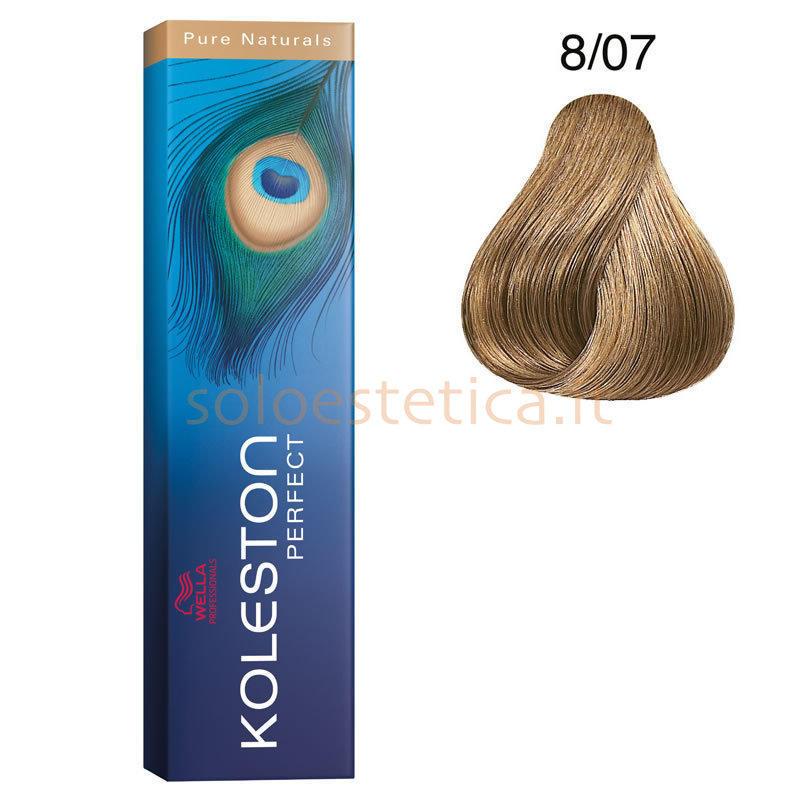 Koleston Perfect New 807 Wella 60 Ml