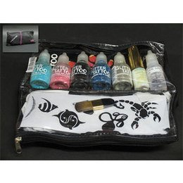 Kit Glitter Tattoo nr 1 Layla