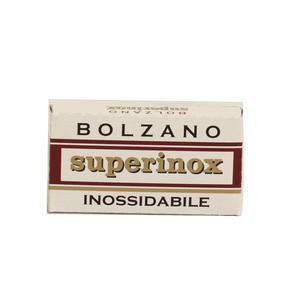 Lamette Bolzano Superinox pc. 5 lame
