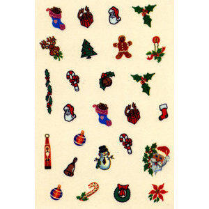 Water Decal decoro nail art WD27