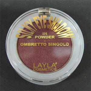 Silky Eye Shadow ombretto singolo in polvere nr. 08 Layla