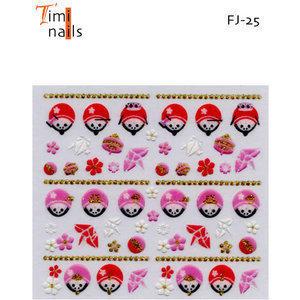 3D Nail Sticker Timi Nails FJ-25