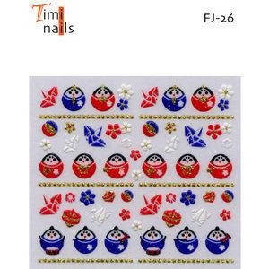 3D Nail Sticker Timi Nails Fj-26