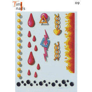 Adesivi per Unghie DO-09 Timi Nails