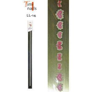 Striscia Adesivi 3D Sticker per Unghie LL-14 Timi Nails