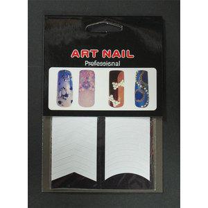 Guide per french manicure 2 disegni Art Nail cod. 8688