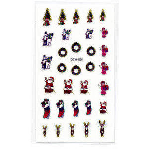 Decori 2D Natale Timi Nails cod. DCH-001