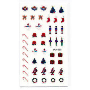 Decori 2D Natale Timi Nails cod. DCH-002