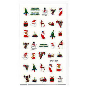 Decori 2D Natale Timi Nails cod. DCH-007