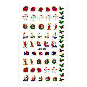 Decori 2D Natale Timi Nails cod. DCH-008