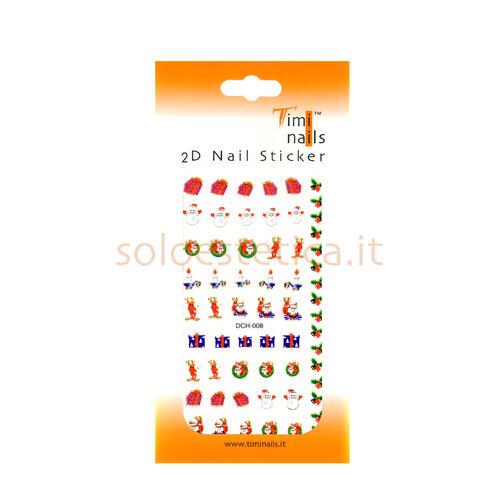Decori 2D Natale Timi Nails cod. DCH-008
