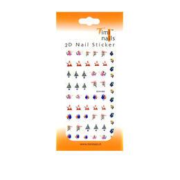 Decori 2D Natale Timi Nails cod. DCH-009