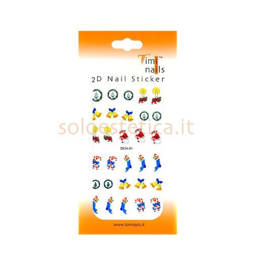 Decori 2D Natale Timi Nails cod. DCH-011