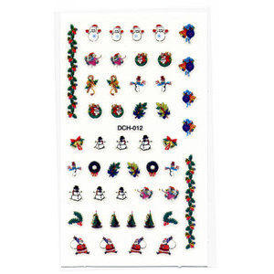 Decori 2D Natale Timi Nails cod. DCH-012