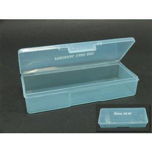 Scatola trasparente azzurro con chiusura Personal Care Box