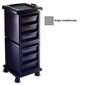 Carrello Modus A grigio metallizzato
