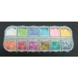 Decori per unghie cuori 12 colori