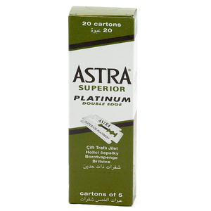 Lame Astra Superior Platinum 100 pz
