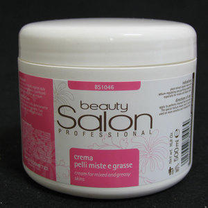 Beauty Salon BS1046 Crema pelli miste e grasse 500 ml