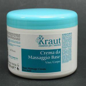 Crema Massaggio Base Viso/Corpo Dr. Kraut DK1002 500 ml