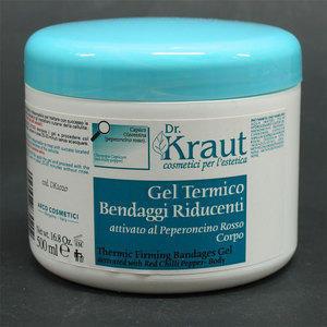 Gel Termico Bendaggi Riducenti Dr. Kraut DK1020 500 ml