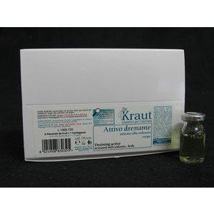Attivo Drenante Corpo Dr. Kraut DK1032 6 fiale