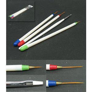 Kit 4 Pennelli x Nail Art