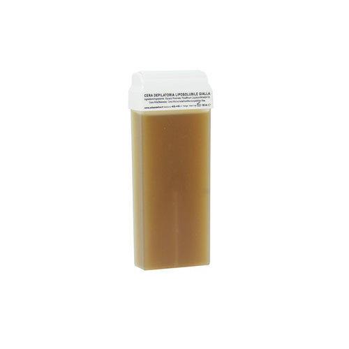 Cartuccia ricarica cera liposolubile gialla 100 ml.