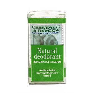 Cristalli di Allume di rocca deodorante naturale