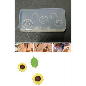 3D Nail Art Mold stampino in silicone art. 003