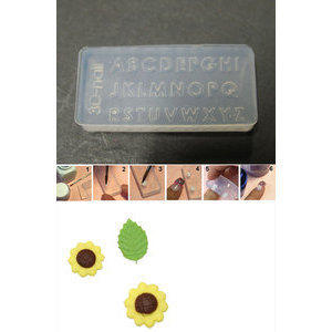 3D Nail Art Mold stampino in silicone art. 022