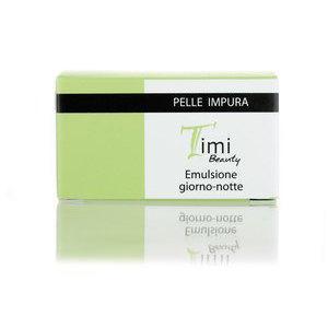 Timi Beauty Emulsione giorno-notte pelle impura 50 ml