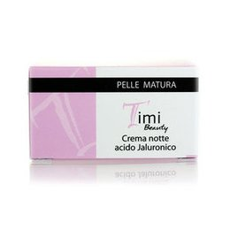 Timi Beauty Crema notte acido Jaluronico pelle matura 50 ml