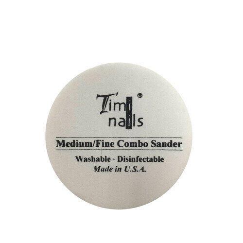 Timi Nails Medium/Fine Combo Sander lima tonda #180/#240 grit
