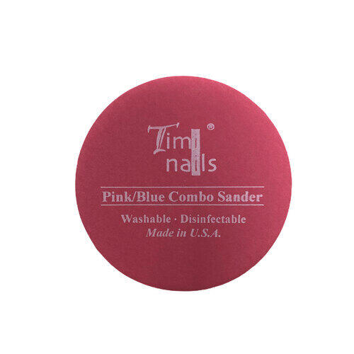 Timi Nails Pink/Blue Combo Sander lima tonda #220/#400 grit