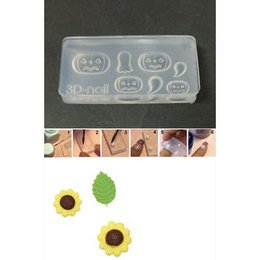 3D Nail Art Mold stampino in silicone art. 021