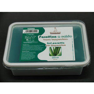 Paraffina a caldo bassa temperatura Aloe 500 ml cod. V204A