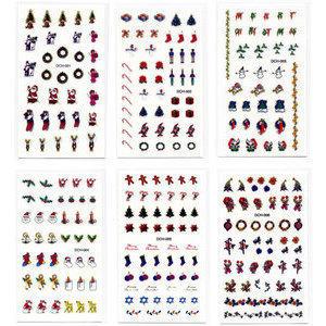 Decori 2D Natale Timi Nails cod. DCH-001-2-3-4-5-6