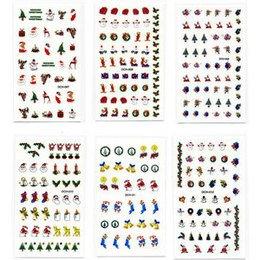 Decori 2D Natale Timi Nails cod. DCH-007-8-9-10-11-12