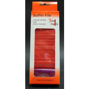 Buffer File Timi Nails lima per acrilico e gel #100 / #120 grit