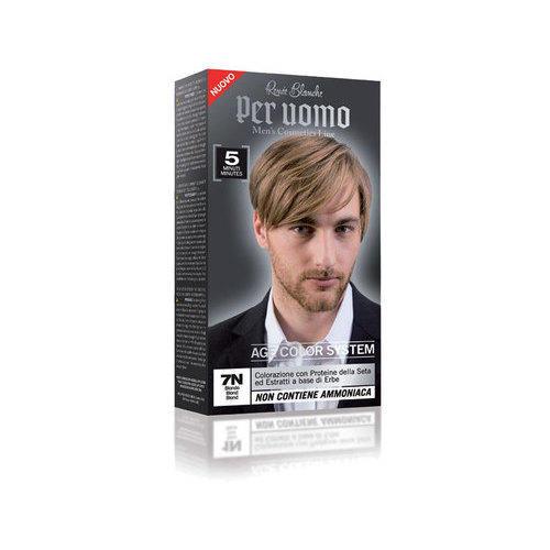 Shampoo colorante perUOMO 7N biondo