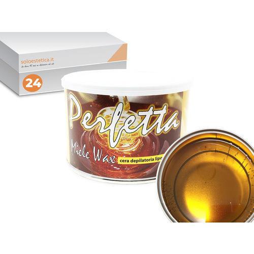 Cera epilazione liposolubile Perfetta Wax 24 vasi da 400 ml cad.