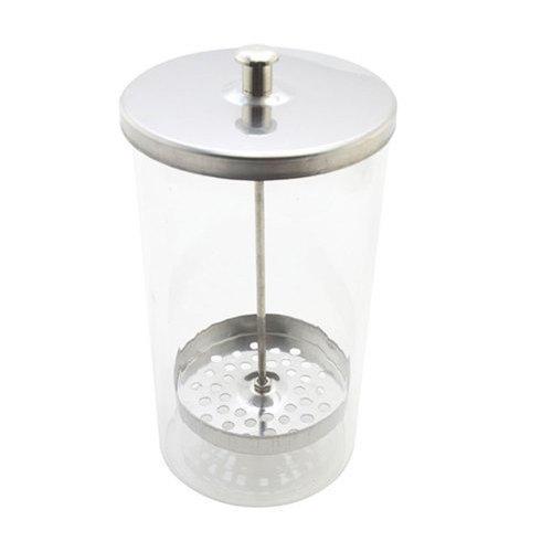 Vaso disinfettante in vetro altezza 15 cm