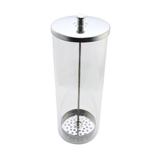 Vaso disinfettante in vetro altezza 23,5 cm