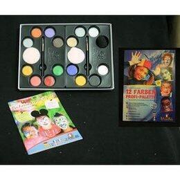 Set Profi Aqua 16 Colori+Spugnette+Pennelli Eulenspiegel
