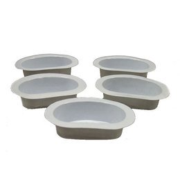 Vaschette per scalda lozioni 5 pz