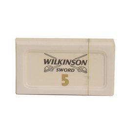 Wilkinson Sword Double Edge Bianco pacchetto 5 lamette