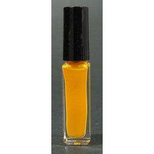 Smalto decoro unghie USA base acqua neon giallo pennello sottile 05021